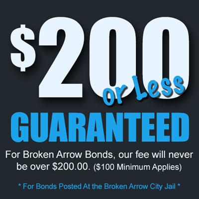 Broken Arrow Bail Fee Guarantee